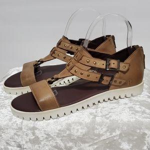 Roan Tan Boho Style Sandals B10